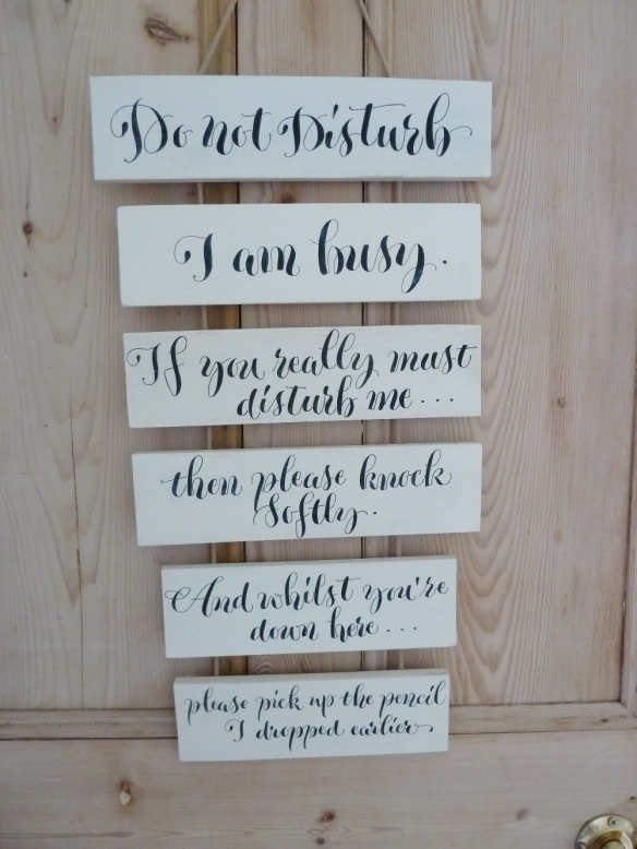 calligraphy-inspired-hand-lettered-wooden-hanging-sign-devon-uk