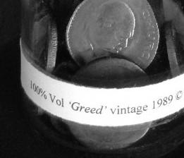 bottle-art-greed-uk