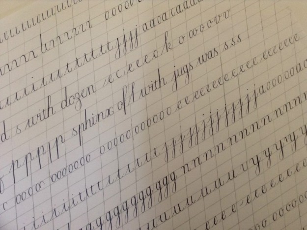 first-copperplate-attempt