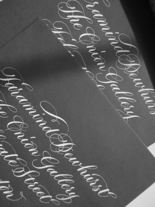 modern-copperplate-calligraphy-address-uk