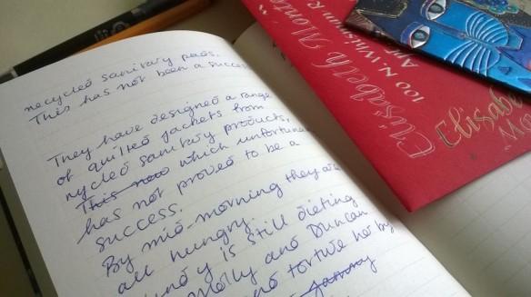 notebook scribble uk