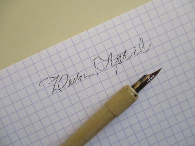shaky-lettering