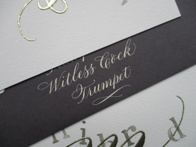 calligraphy-British-insult