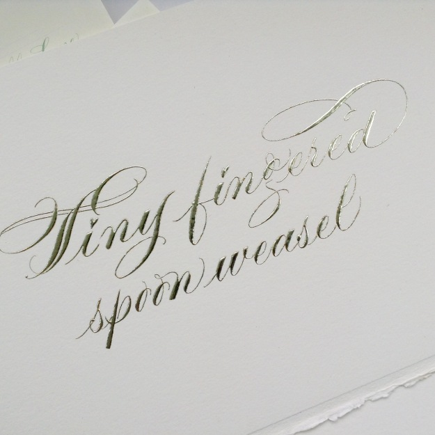 gilded-insult-gold-leaf-calligraphy-uk