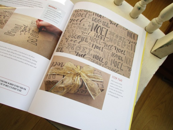 book-review-the-joy-of-lettering-xmas-wrapping-paper-project