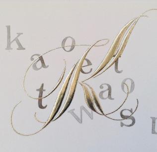 gilded-letter-k-uk