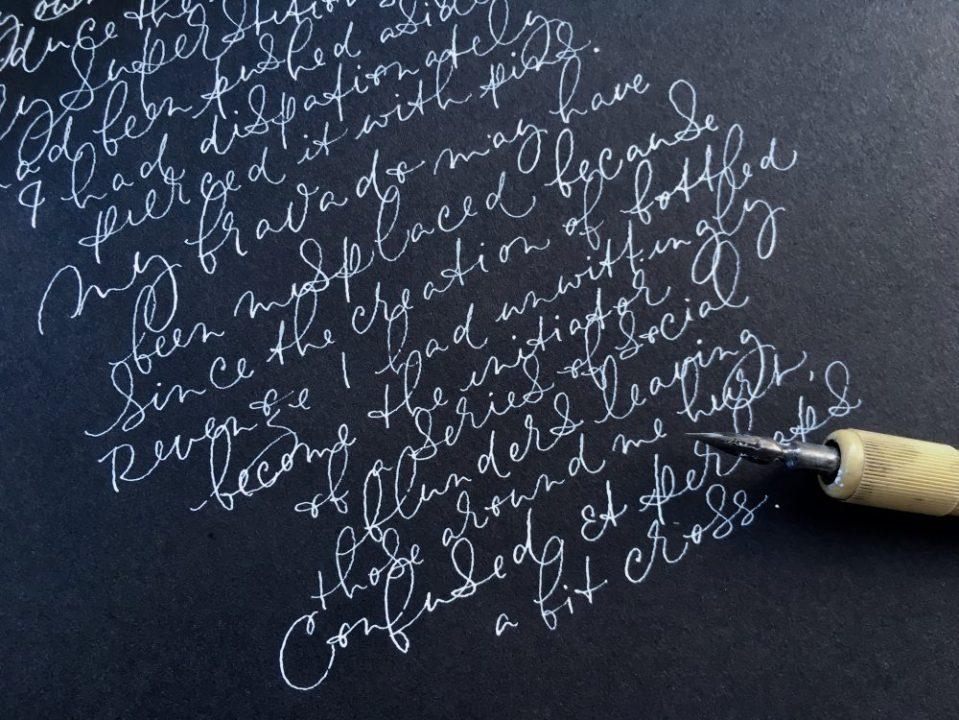 fine artisan calligraphy uk