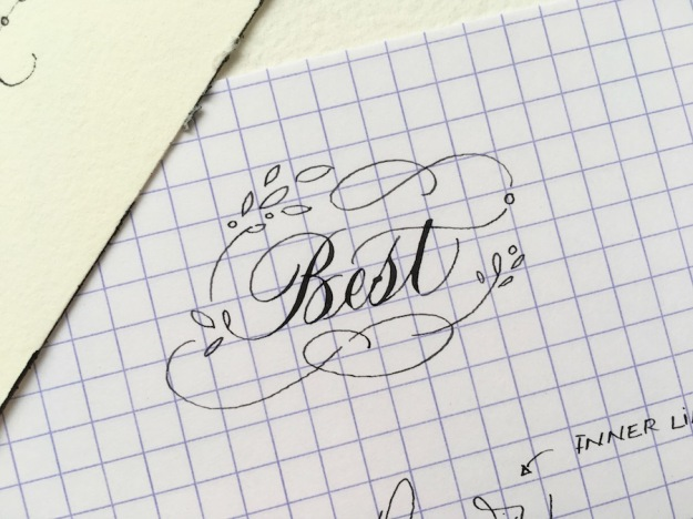 best-doodling-for-calligraphy-flourishing-uk