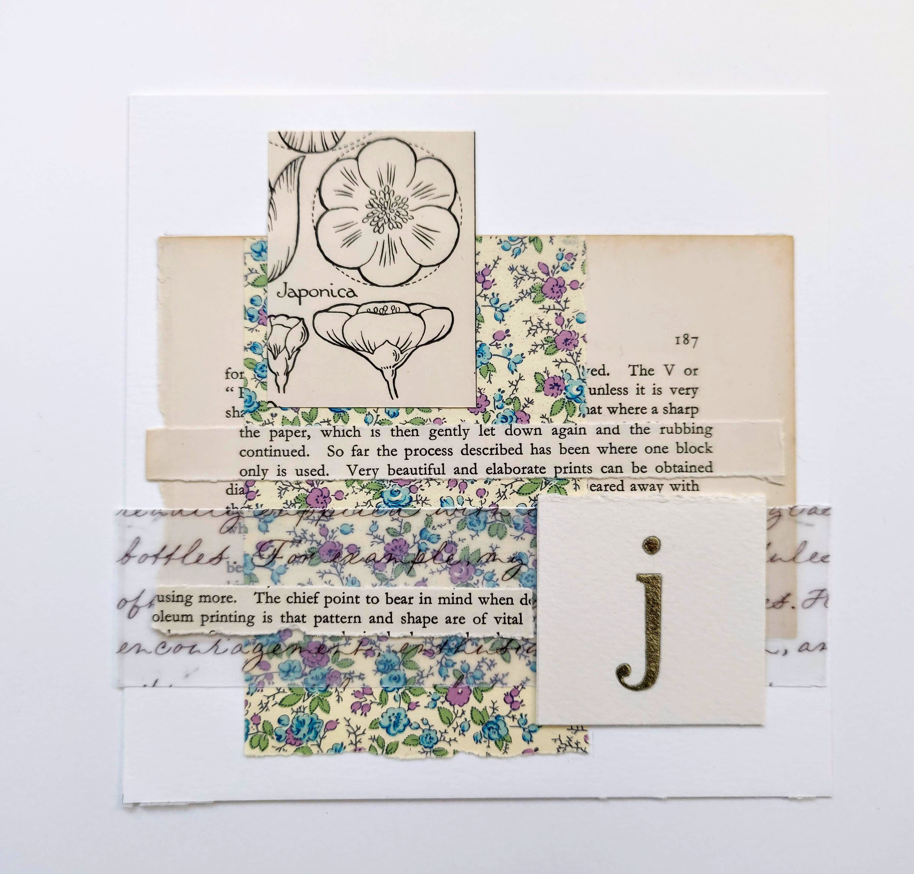 the-letter-j-collage-using-vintage-book-paper-and-gilding
