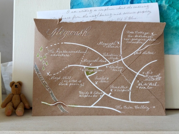 map-on-the-back-of-envelope-on-mantelpiece